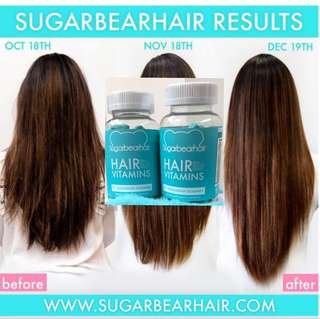 Authentic Sugar Bear Hair Vitamins