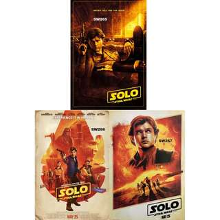 SOLO: A STAR WARS STORY MOVIE POSTERS (PART 5)