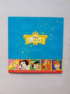 Disney Classics Transitlink Cards- Thematic Edition SMRT Tickets Volume Two