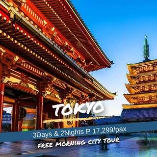 3D2N Tokyo