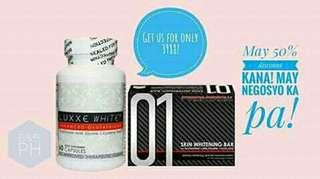 Luxxe white & skin whitening soap