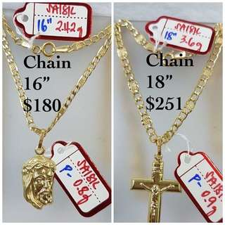 Chains- 18K|750 Gold