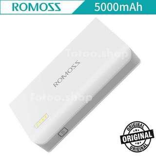 AUTHENTIC/ORIGINAL ROMOSS POWERBANK 5000 mAh