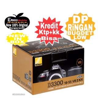 Cicilan Ringan Nikon D3300 AF SDX 18-55mm VR ditoko Dp 800rb Wa;081905288895