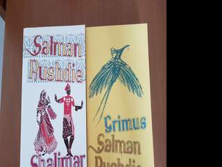 Salman Rushdie x 2 novels Shalimar The Clown and Grimus