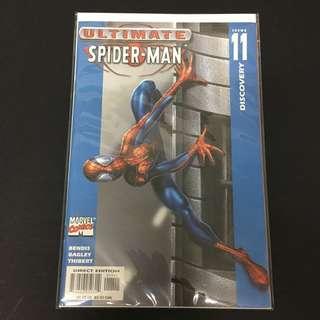 Ultimate Spiderman 11 Marvel Comics Book Stan Lee Movie Avengers