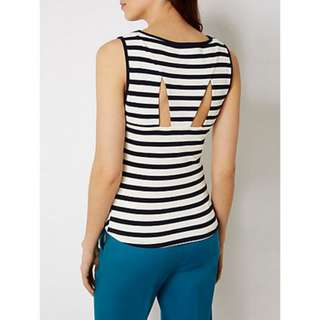 New Karen Millen Stripe Top