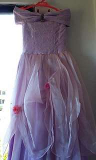 7th Birthday Gown Lavander