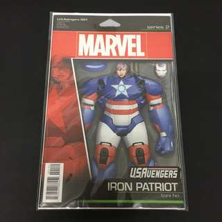 US Avengers 1 Marvel Comics Book Stan Lee Movie Iron Patriot