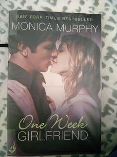 One week girlfriend (Monica Murphy)