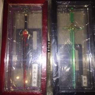 霸刀 劍魂 兵器 共$120