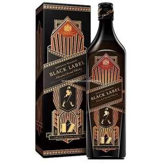 Johnnie Walker 12 Years Black Label 1930 Art Deco Limited Edition 黑牌12年調和威士忌 (1930恆耀限定版)