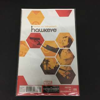 Hawkeye 18 Marvel Comics Book Stan Lee Movie Avengers