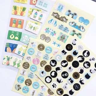 Sticker Sheets Grab Bag #2