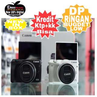 Cicilan Ringan DP 500rb  Canon EOS M10 Kit EF-M 15-45mm ditoko Wa;081905288895