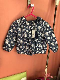 Baby Gap Hooded Fleece jacket