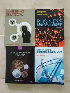 International Business / Marketing Textbooks