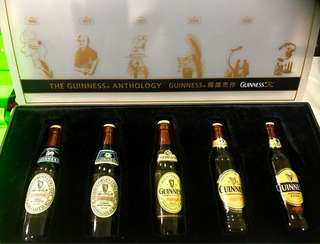 Vintage Guinness Stout Miniature Set