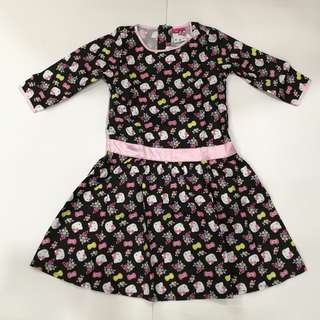 Hello Kitty Luxurious Long Sleeve Gown
