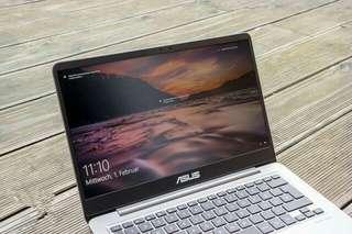 Laptop Asus Zenbook UX410UQ di kredit sekarang dapatkan gratis 1x cicilan nya