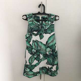 MDS Leafy Green Dress