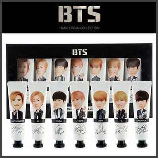 (Ready stock) BTS Hand Cream Collection