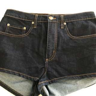 Nobody Denim High Waisted Shorts sz 30