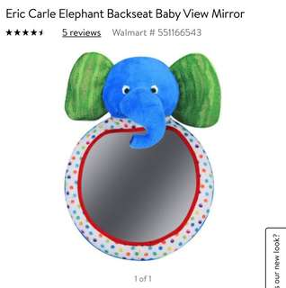 Eric Carle Backseat Baby View Mirror
