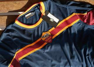 Jersey Roma Training Navy L/S Shirt (BNIB)