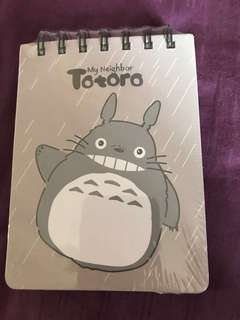 Totoro notebook 107x142mm
