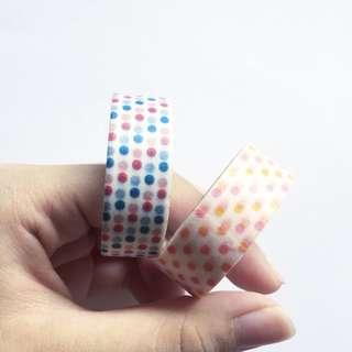 Poka dots Washi Tape Set