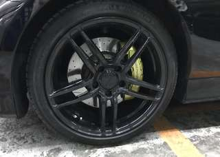 BMW M-Performance brake kit (Made by Brembo)