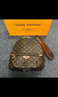 Louis vuitton mini backpack and sling (2 way)