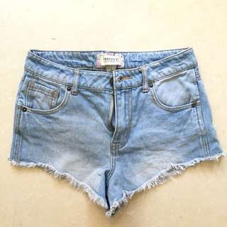 Forever 21 Highwaist Denim Short