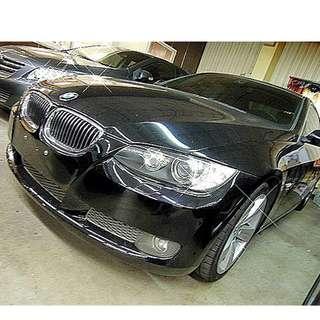 07年BMW 335cic 黑 3000cc   大桃園優質二手中古車買賣