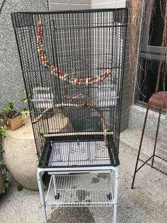 鳥籠9成新含架/誠可議