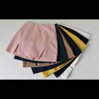 *CLEARANCE* Pink skorts