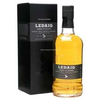 Ledaig 10 Years Single Malt Scotch Whisky 里爵10年單一麥芽威士忌