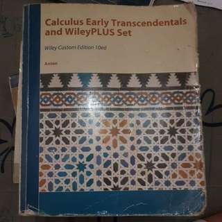 Calculus Early Transcendentals by Anton