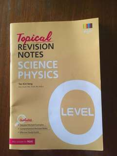 Topical Revision Notes Science Physic