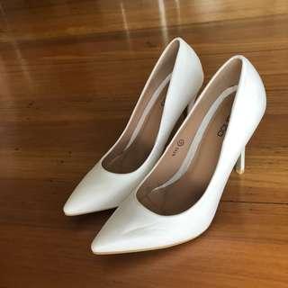 White Court Heels