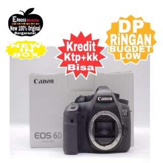 Kredit low Dp Canon EOS 6D Body Resmi Promo Ketoko ktp+kk Wa;081905288895