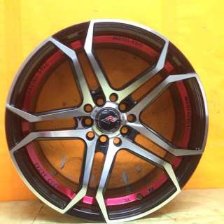 17inch SPORT RIM WISH PRIUS WAJA MYVI VIOS CIVIC CITY