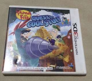 Nintendo 3ds games (Quest for Cool Stuff)
