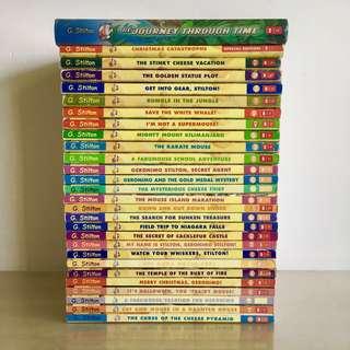 27 Paperbacks & 1 Hardcover Geronimo Stilton