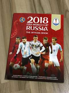2018 FIFA World Cup Russia the official book. NEW!