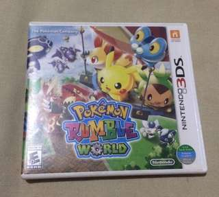 Nintendo 3ds games ( pokemon rumble world)