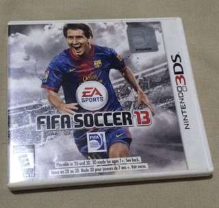 Nintendo 3ds games (Fifa Soccer 13)