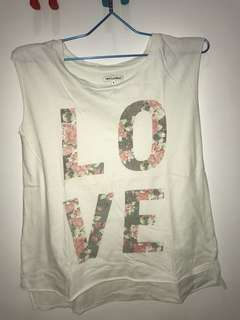 Love flower colorbox top