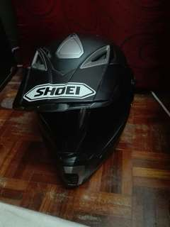 HELMET FULL FACE VINTAGE FULL BLACK